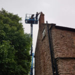 chimney repairs on brick property